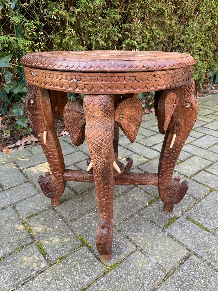 African Side Table Tables Inventory Glantiques