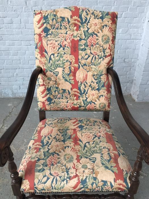 Armchair with special printed fabric. - Seating ...